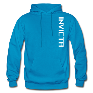 Open image in slideshow, Big and Tall Hoodie - turquoise