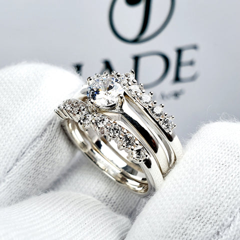 Anillo en Plata Doble Separable