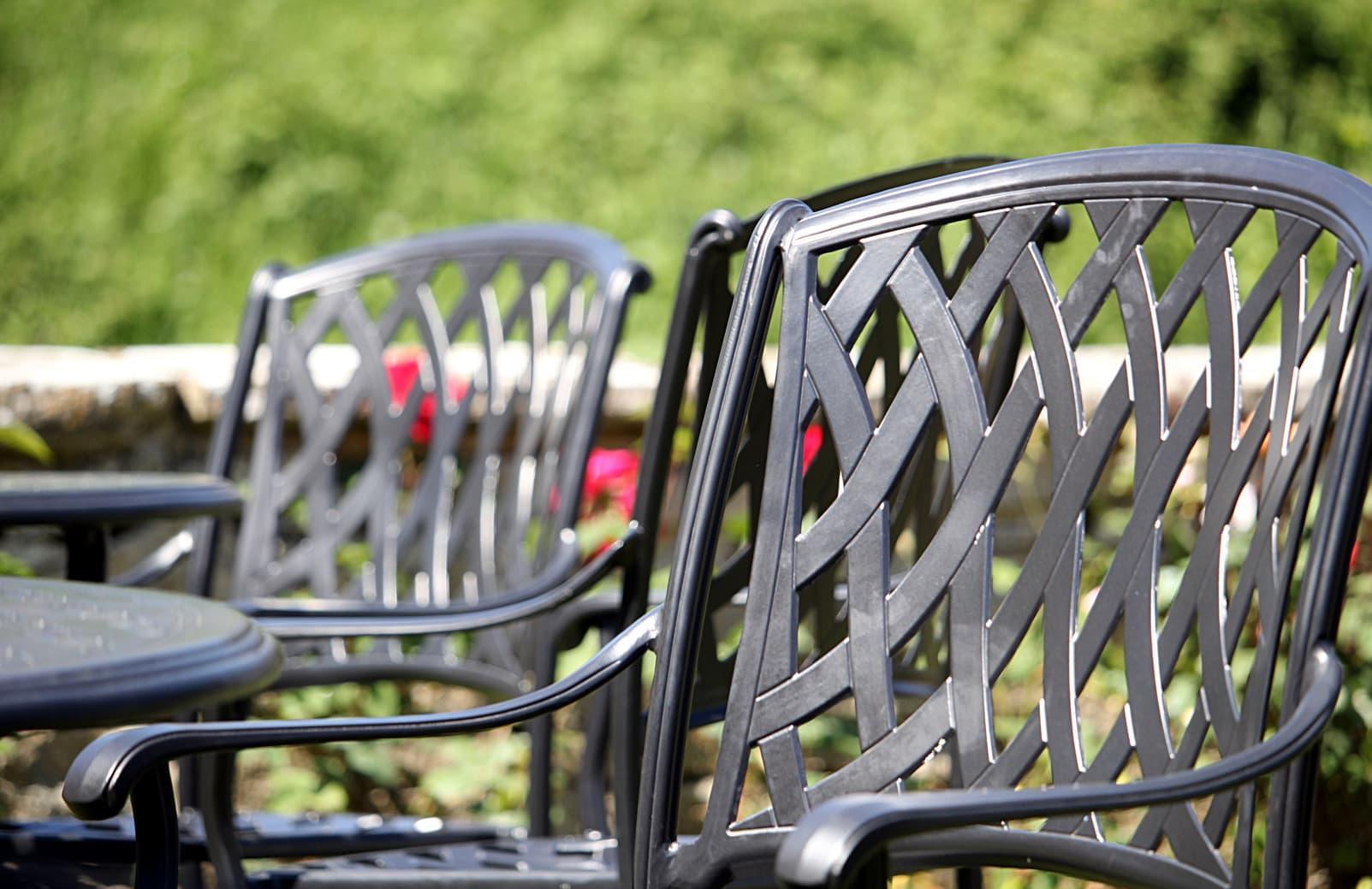 Wrought Iron outdoor chairs