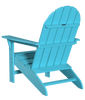 Wildridge Freedom Collection Traditional Adirondack in Aruba, Back Angle