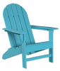 Wildridge Freedom Collection Traditional Adirondack in Aruba, Front Angle