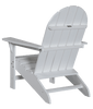 Wildridge Freedom Collection Traditional Adirondack in White, Back Angle