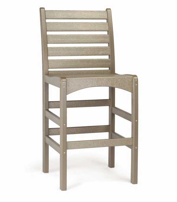 Breezesta Piedmont Bar Side Chair in Weatherwood