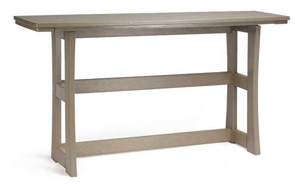Breezestsa Piedmont Terrace Counter Table in Weatherwood