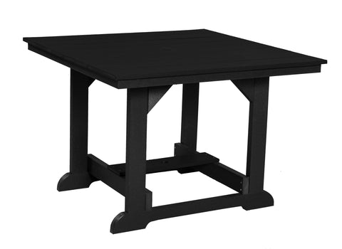 "Wildridge Black 44""x44"" Table"