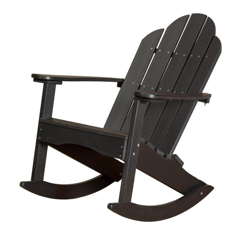 Wildridge Black Adirondack Rocker