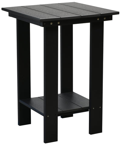 Wildridge Black Contemporary Balcony Table