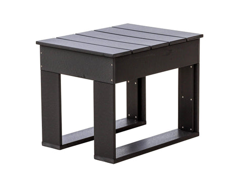 Wildridge Black Contemporary Deep Seat Side Table