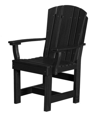 Wildridge Black Heritage Dining Chair with Arms