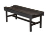 Wildridge Black Vineyard Bench