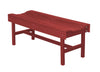 Wildridge Cardinal Red Vineyard Bench