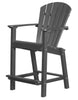 "Wildridge Dark Gray 30"" High Dining Chair"