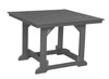 "Wildridge Dark Gray 44""x44"" Table"