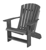 Wildridge Dark Gray Heritage Adirondack Chair