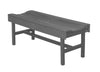 Wildridge Dark Gray Vineyard Bench