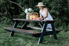 Wildridge Heritage Picnic Table with Attached Benches
