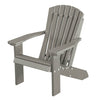 Wildridge Light Gray Heritage Child's Adirondack Chair