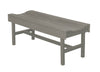Wildridge Light Gray Vineyard Bench