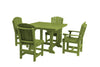 "Wildridge Lime 44"" Table Set with 4 Chairs"