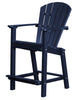 "Wildridge Patriot Blue 30"" High Dining Chair"