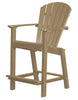 "Wildridge Weathered Wood 30"" High Dining Chair"