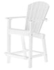 "Wildridge White 30"" High Dining Chair"