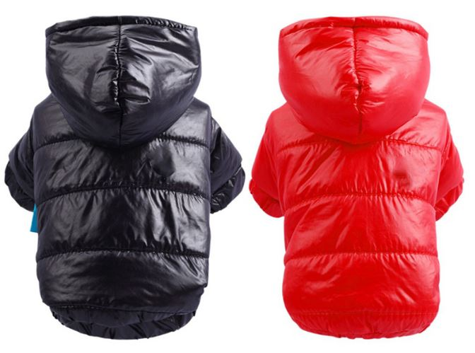 Winter Warm Dog Jacket for Small and Medium Dogs