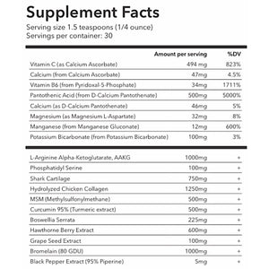 The ultimate performance supplement, 15 to 22 day supply.