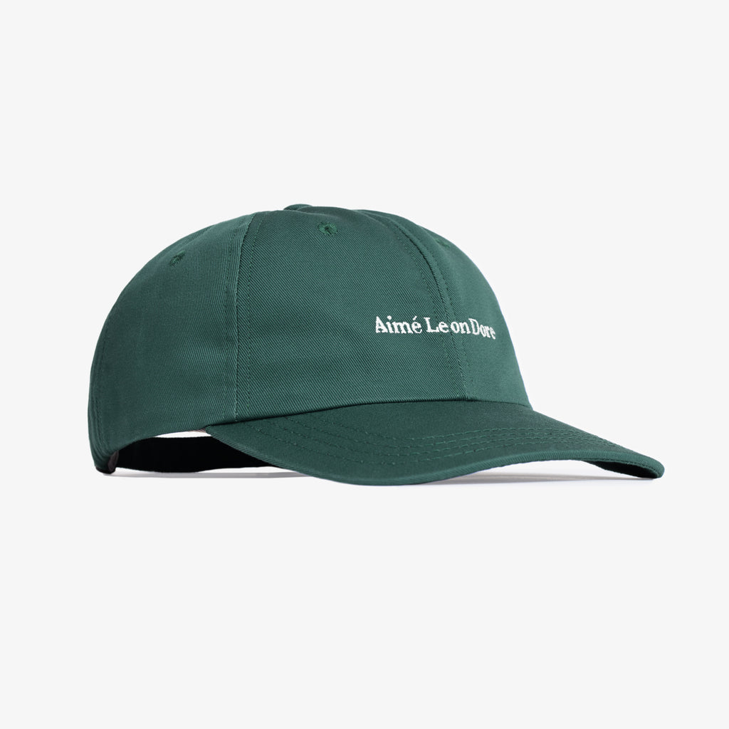 ALD LOGO HAT - GREEN - Accessories Aimé Leon Dore