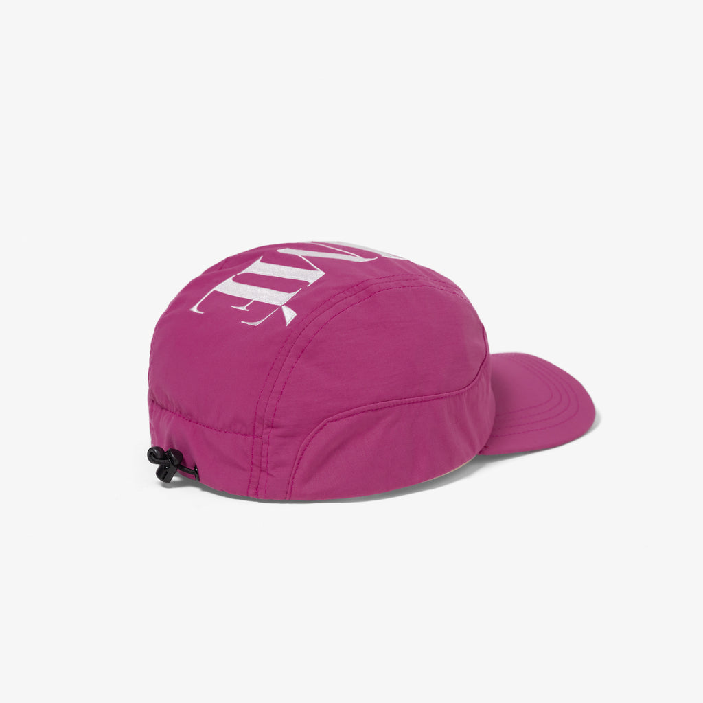 NYLON SPORTS CAP - PURPLE