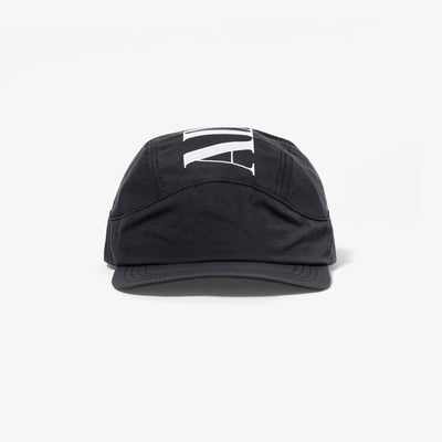 NYLON SPORTS CAP - BLACK