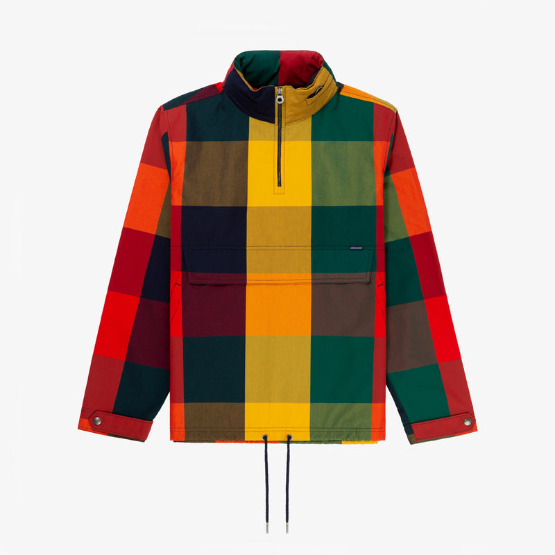 Plaid Anorak