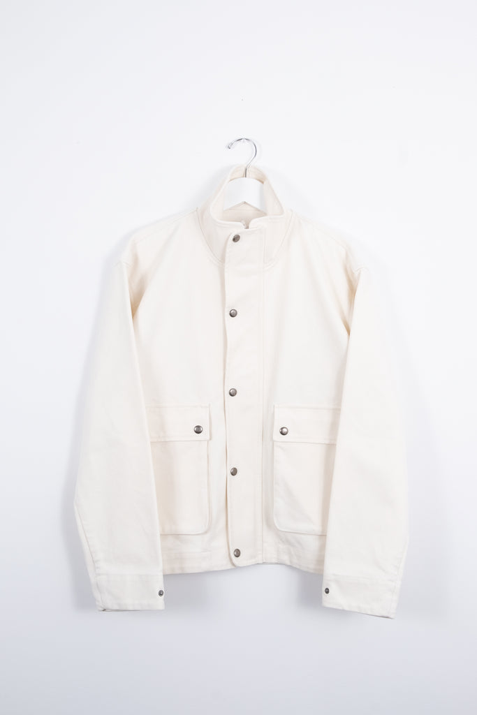 CANVAS WORK JACKET - WASHED SAIL - Outerwear Aimé Leon Dore
