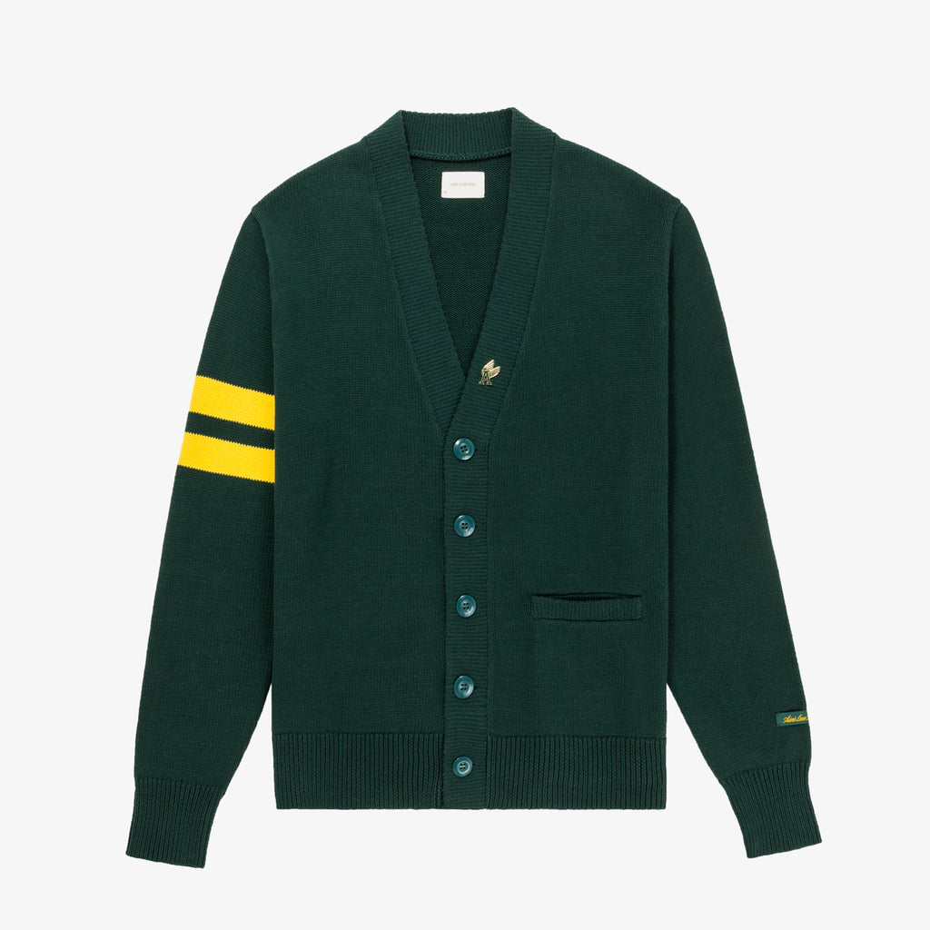 CARDIGAN SWEATER - GREEN - Sweaters Aimé Leon Dore