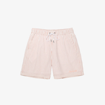 STRIPED SHORTS - RED