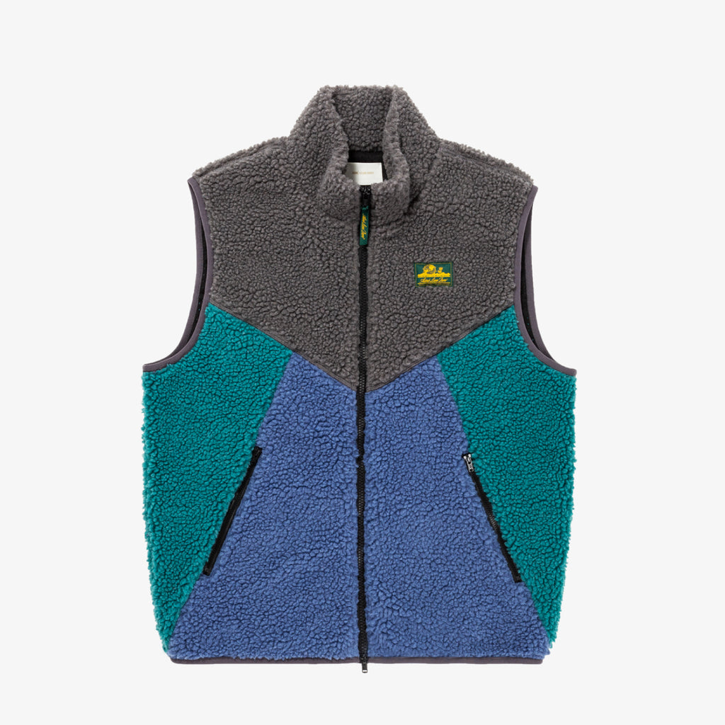 POLAR FLEECE VEST - GREY