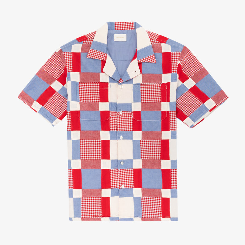 Patchwork Leisure Shirt