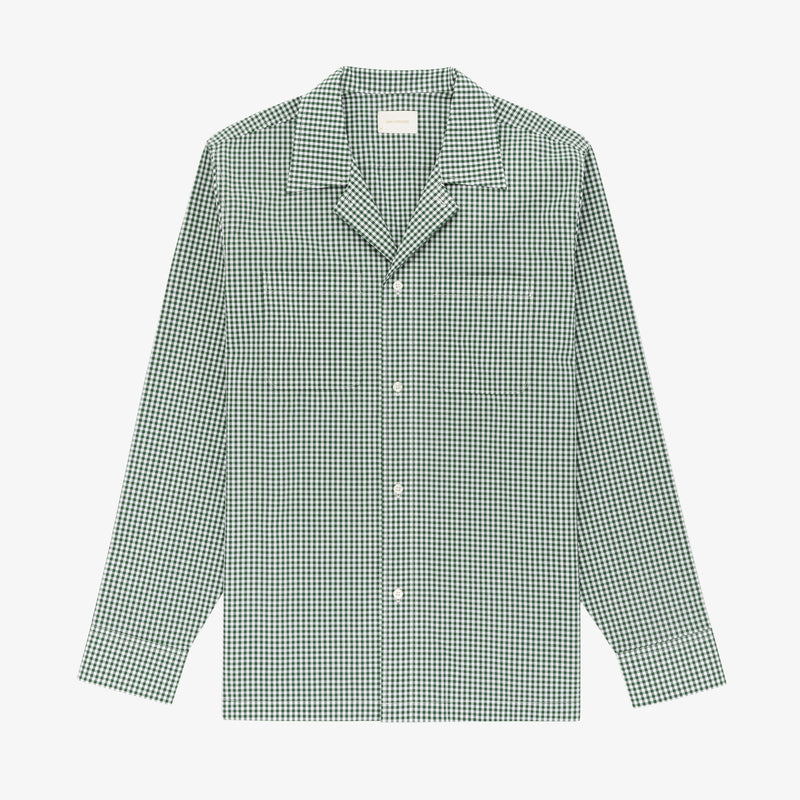 Gingham Long-sleeve Shirt