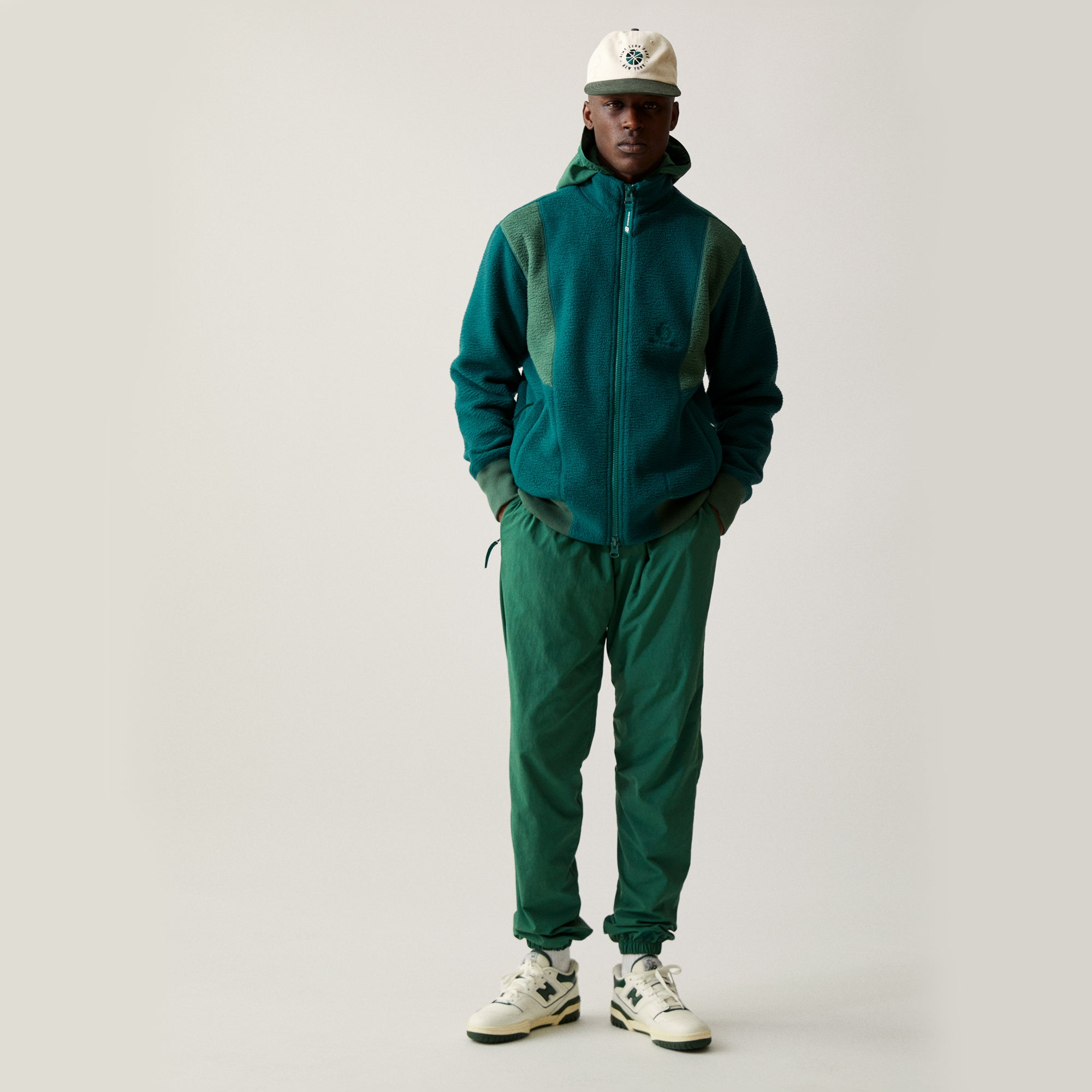 ALD / New Balance Deep Pile Zip-Up