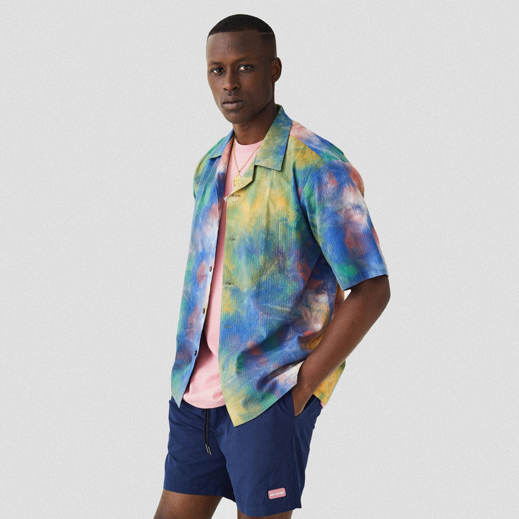 SS LEISURE SHIRT - MUTICOLOR 2 - Shirt Aimé Leon Dore