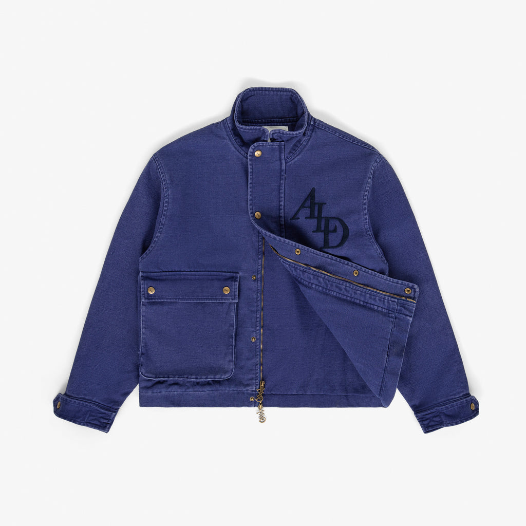 CANVAS WORK JACKET - WASHED MIDNIGHT - Outerwear Aimé Leon Dore