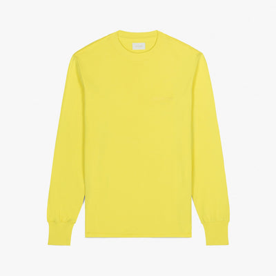 LS LOGO TEE - HIGHLIGHTER YELLOW