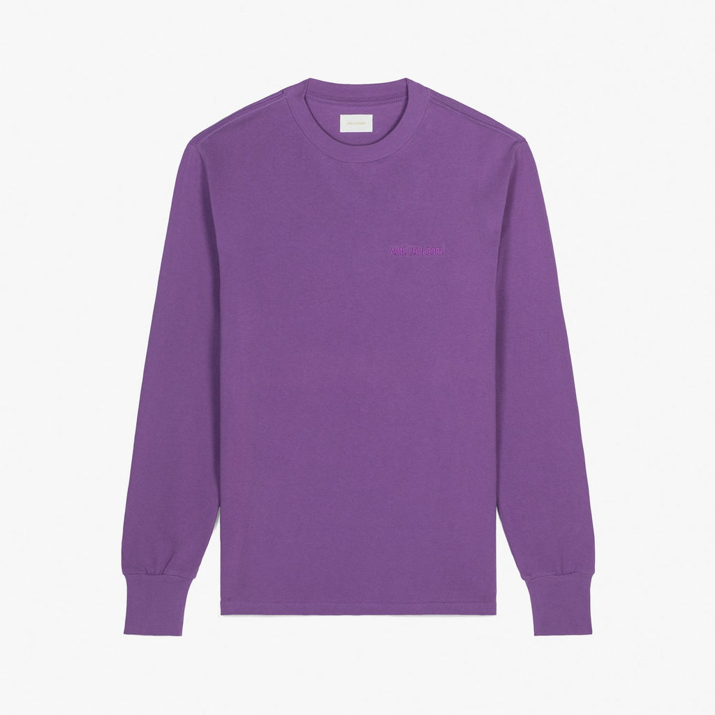 LS LOGO TEE - PURPLE
