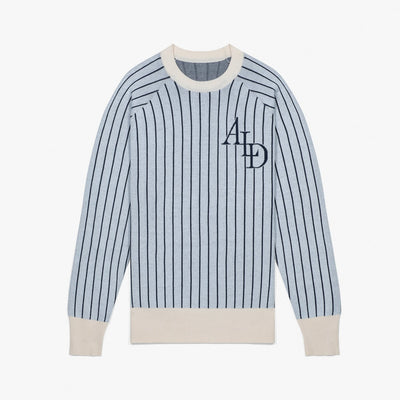 STADIUM KNIT CREWNECK - GREY