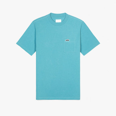 SS POCKET TEE - BLUE