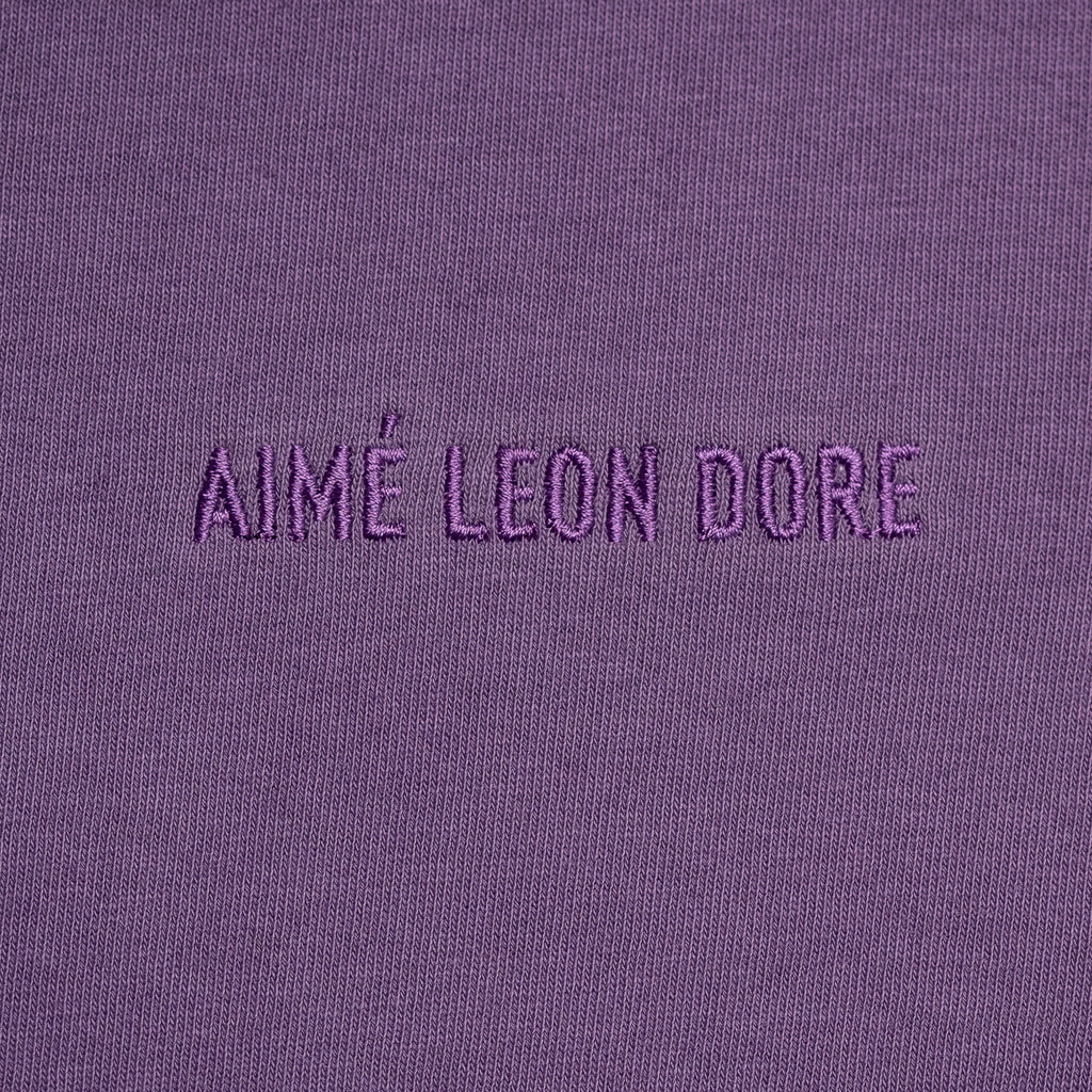 FRENCH TERRY SWEATPANTS - PURPLE - Sweatpants Aimé Leon Dore