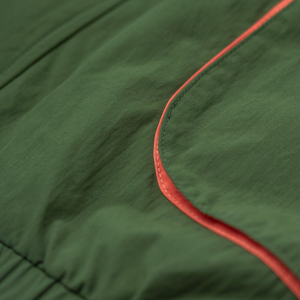 COLOR BLOCKED NYLON WINDBREAKER - OLIVE - Outerwear Aimé Leon Dore