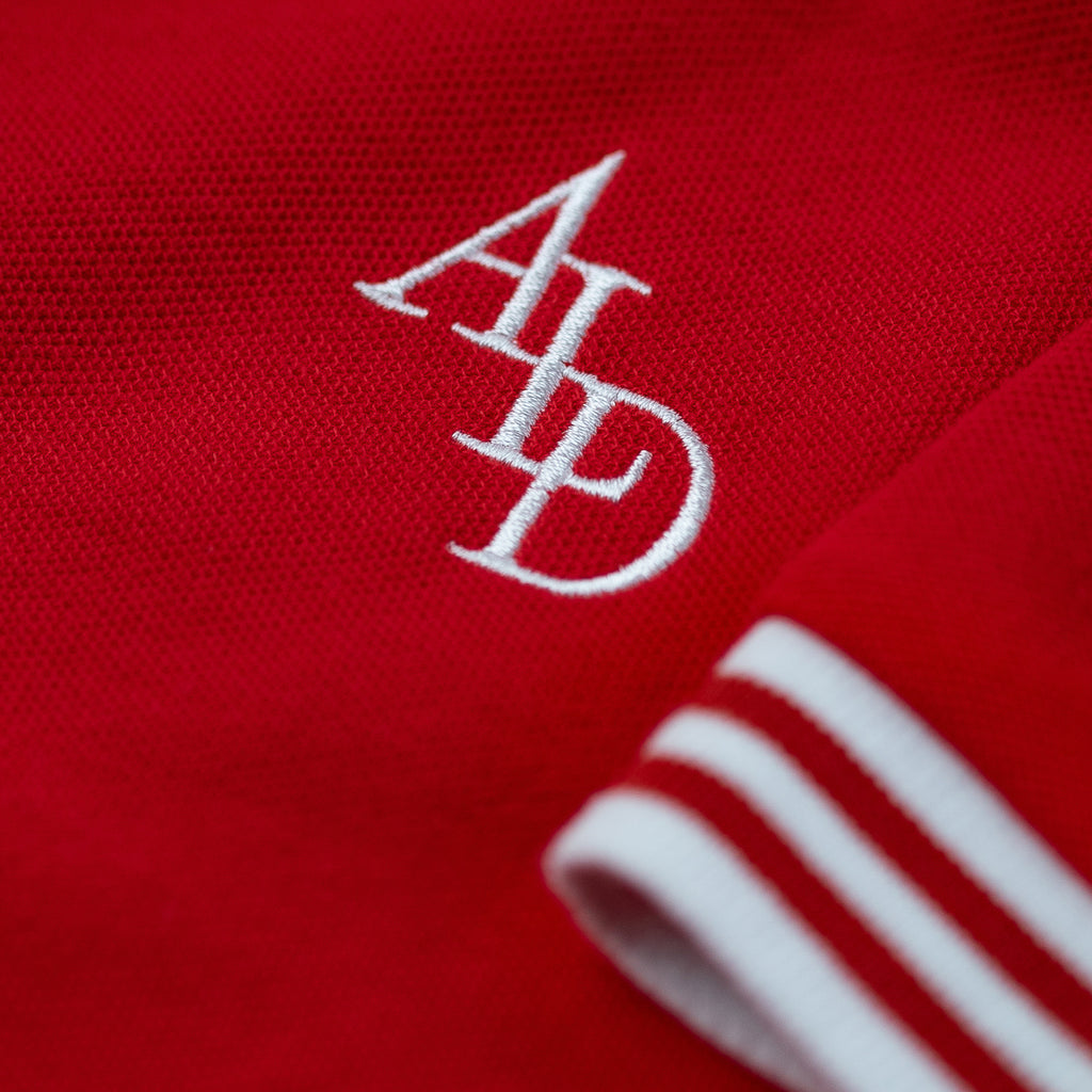 ALD MONOGRAM POLO - RED - Tees Aimé Leon Dore