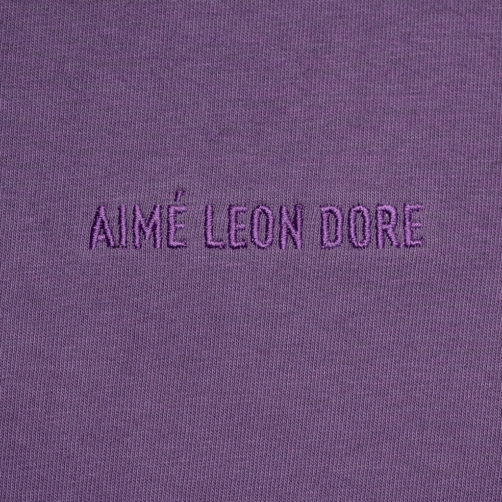 FRENCH TERRY SHORTS - PURPLE - Sweat shorts Aimé Leon Dore