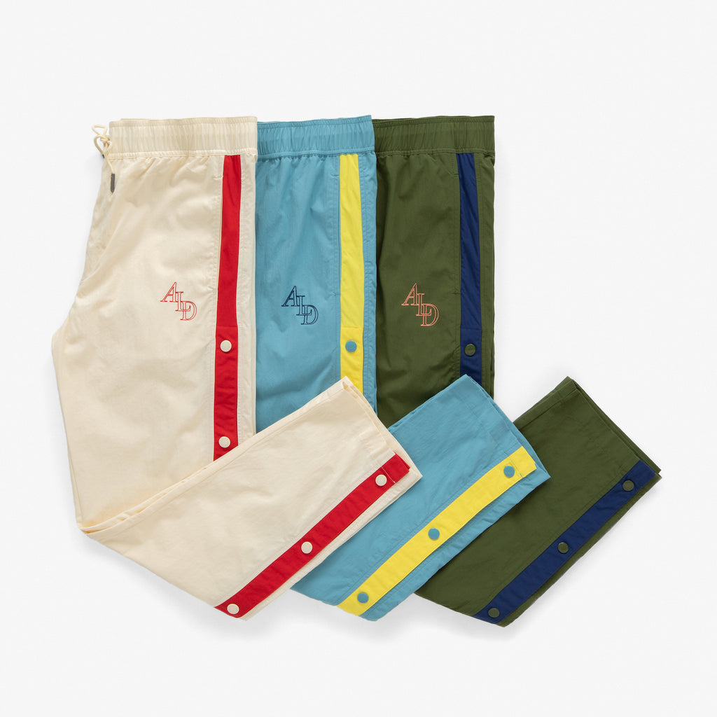 WARM-UP TRACK PANTS - OLIVE